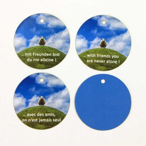 Hang tag, étiquettes volantes